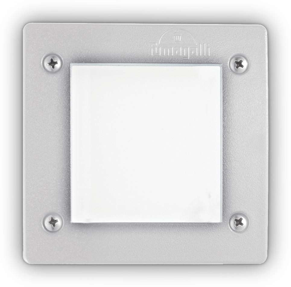 Ideal lux LED Leti square bianco max 3W gx53/96575