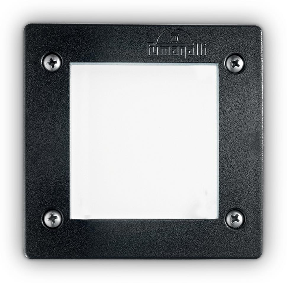 Ideal lux LED Leti square nero max 3W gx53/96582