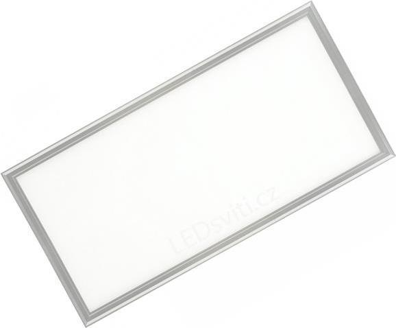 Dimmbarer Silbern decken LED Panel 300 x 600mm 30W Kaltweiß