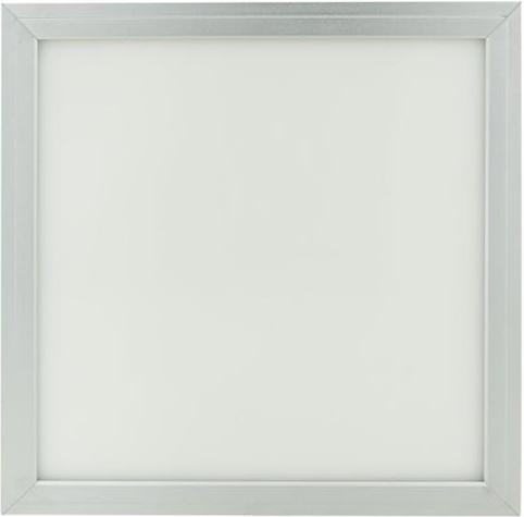 Dimmbarer Silbern decken LED Panel 300 x 300mm 18W Kaltweiß