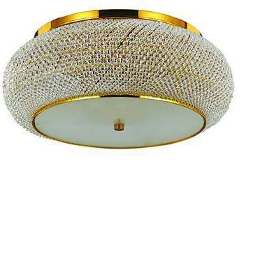 Ideal lux LED Pasha Oro decken Lampe 10x5W 100791
