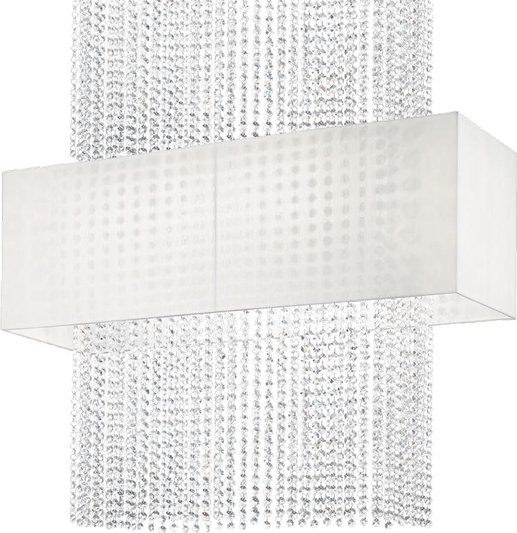 Ideal lux LED Phoenix bianco decken Lampe 5x5W 99101