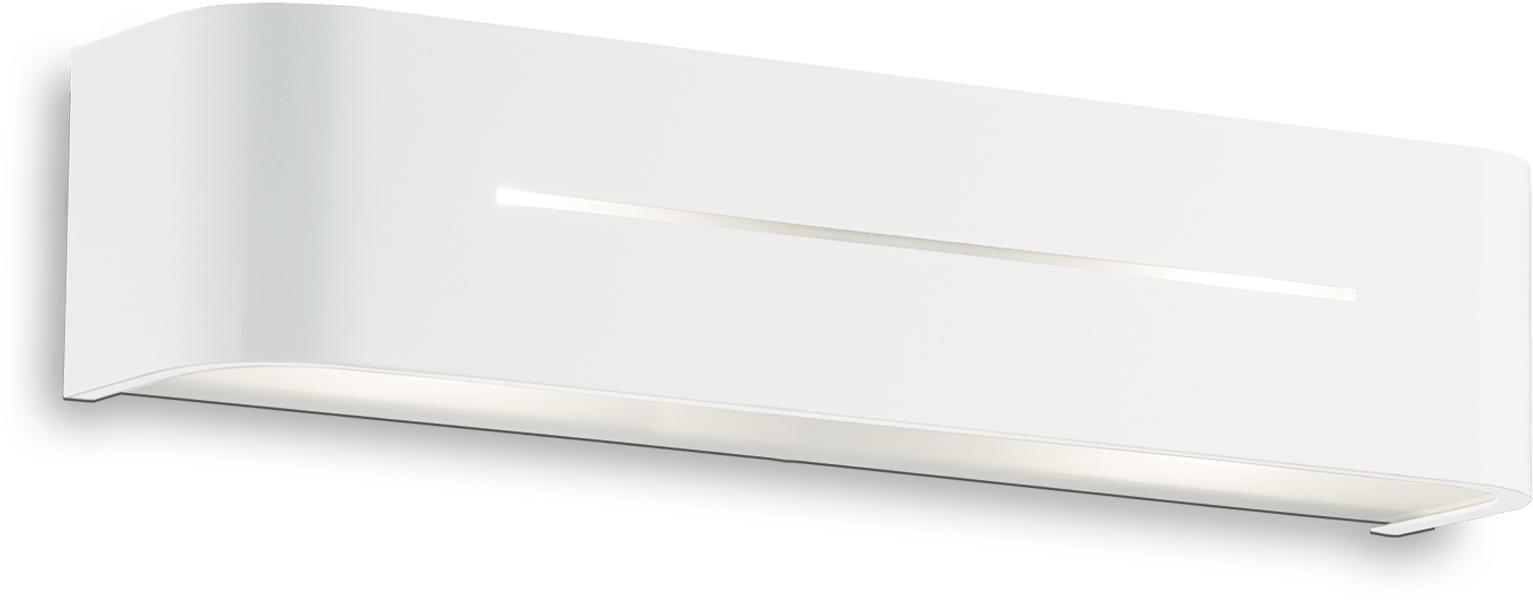 Ideal lux LED Posta bianco Wand Lampe 2x5W 51963