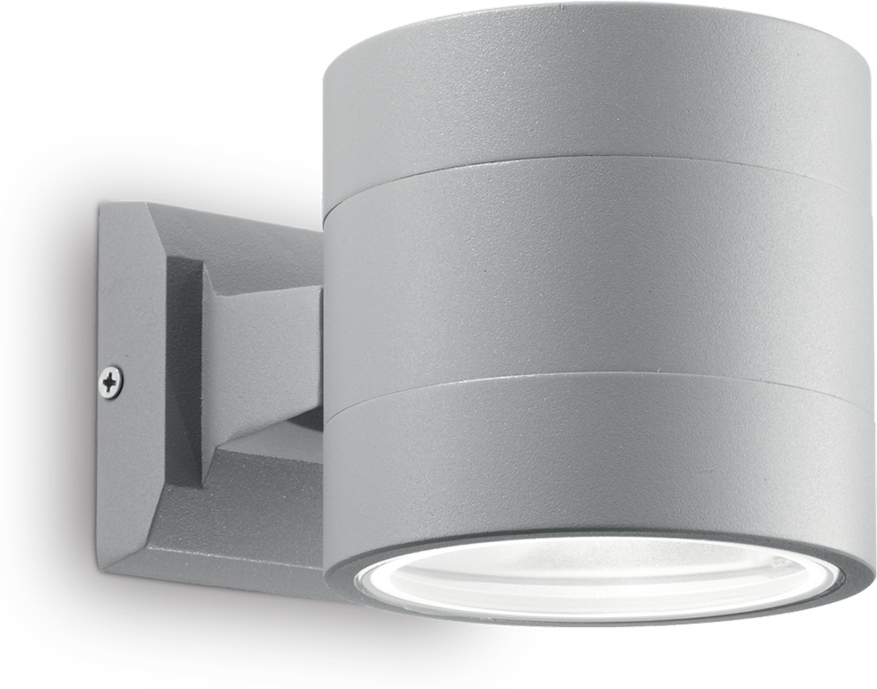Ideal lux LED Snif big grigio Wand Lampe 4,5W 61474