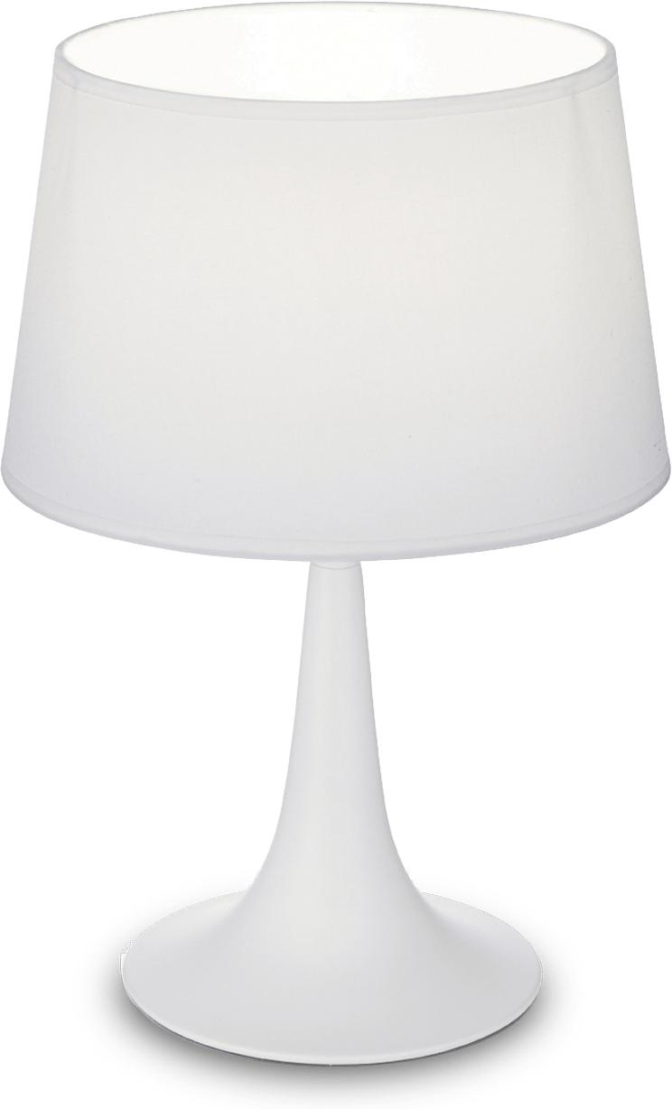 Ideal lux LED London small bianco Tischlampe 5W 110530