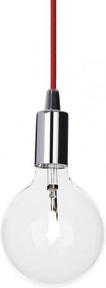 Ideal lux LED Edison Cromo haengende Lampe 5W 113296
