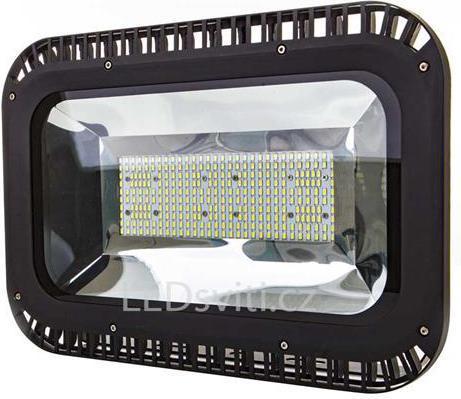 Schwarzer LED Strahler 200W Tageslicht
