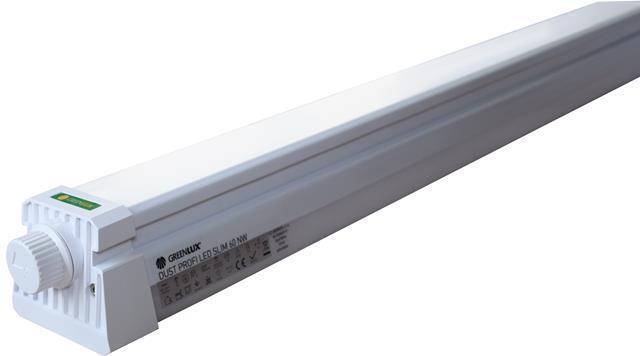 LED staubdicht Körper 150cm 48W Tageslicht Dust profi slim