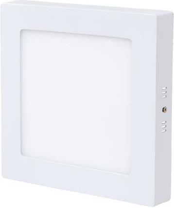 Dimmbarer weisser angebauter LED Panel 175 x 175mm 12W Warmweiß