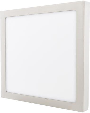 Dimmbarer chrom angebauter LED Panel 300 x 300mm 25W Warmweiß
