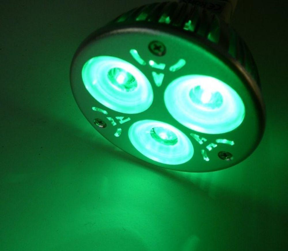 Farbige LED Lampe MR16