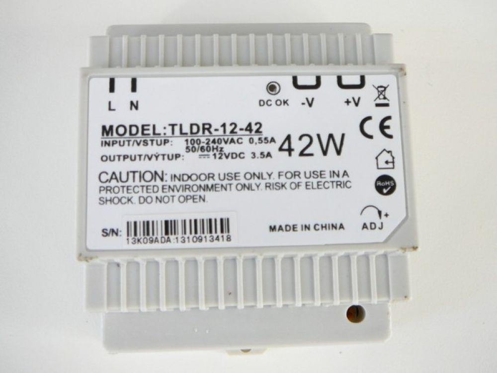 LED trafo 12V 42W DIN Hutschiene