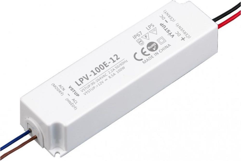 LED trafo 12V 100W LPV-100E-12