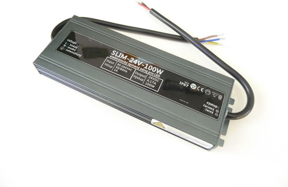 LED trafo 24V 100W SLIM-24V-100W