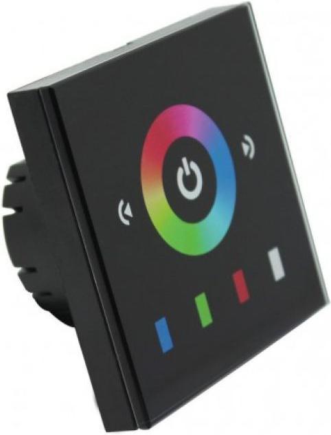 LED beruehrung Panel RGB 8E schwarz