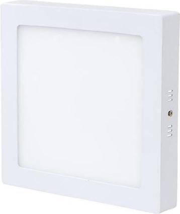 Weisser angebauter LED Panel 225 x 225mm 18W Tageslicht