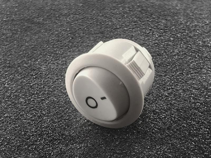 WippSchalter 3a/250v Weiß