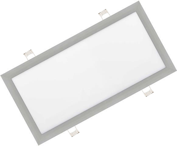 Dimmbarer Silbern eingebauter LED Panel 300 x 600mm 30W Warmweiß