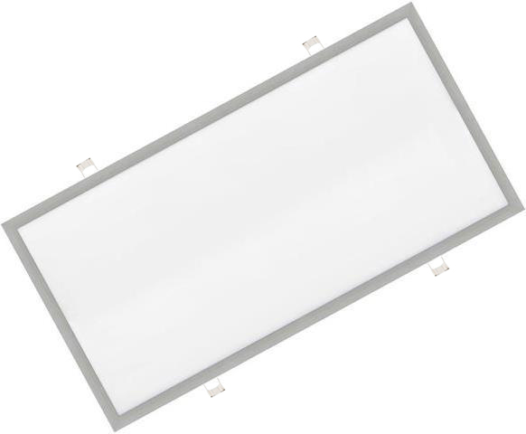 Dimmbarer Silbern eingebauter LED Panel 600 x 1200mm 72W Warmweiß