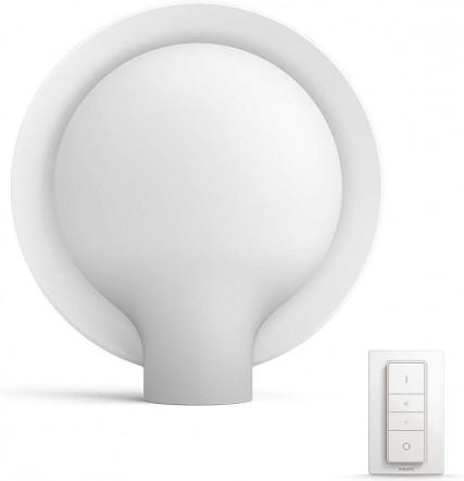 Philips HUE Gydi Tischleuchte LED E27 9,5W 806lm 3000 6000 K Weiß 40975/31/P7