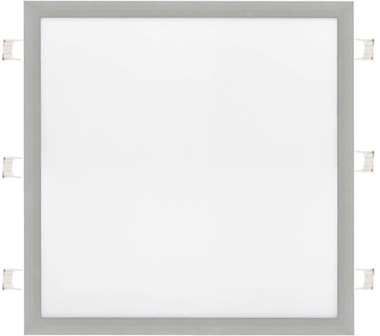 Dimmbarer Silbern eingebauter LED Panel 600 x 600mm 48W Kaltweiß
