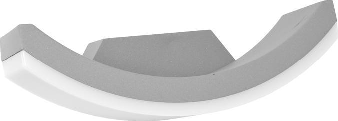 Grau modern Wand LED Lampe 8W Tageslicht 540lm