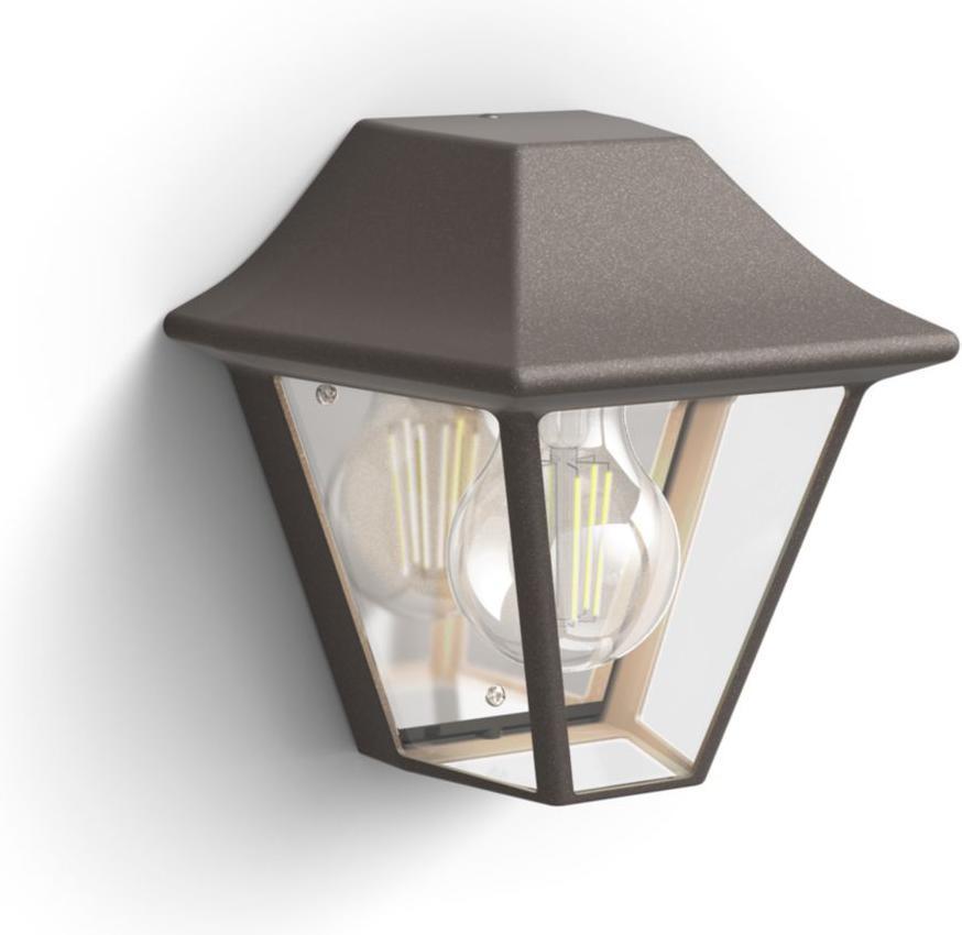 Philips LED Außenleuchte E27 10W Curassow Tageslicht 17385/43/PN
