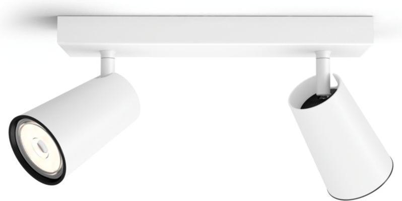 Philips LED Spotlicht GU10 2x10W Tageslicht weiss Paisley 50572/31/PN