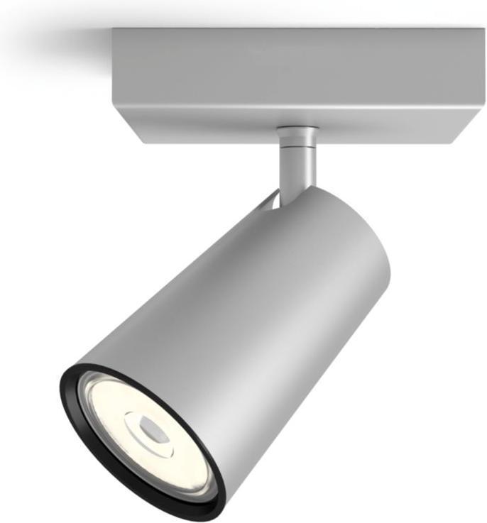 Philips LED Spotlicht GU10 10W Tageslicht silbernes Paisley 50571/48/PN