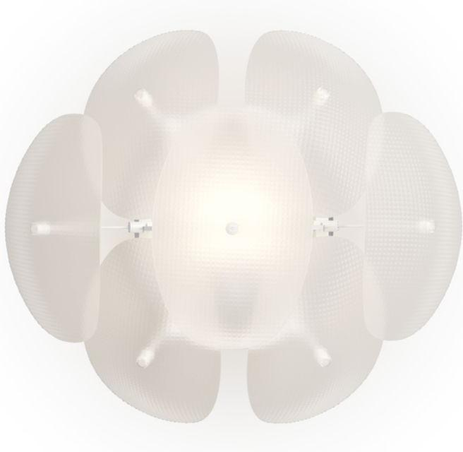 Philips LED Wandleuchte E27 10W Roseval Tageslicht 40965/60/PN