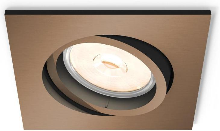 Philips LED deckenbeleuchtung Beleuchtung GU10 5W Donegal Tageslicht 50401/05/PN