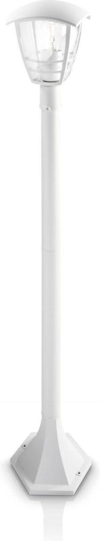 Philips LED Pfeiler Außenleuchte E27 5W Creek Tageslicht 15383/31/16