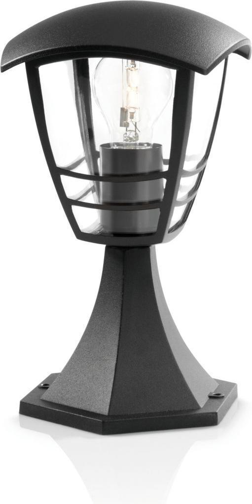 Philips LED Pfeiler Außenleuchte E27 15W Creek Tageslicht 15382/30/16