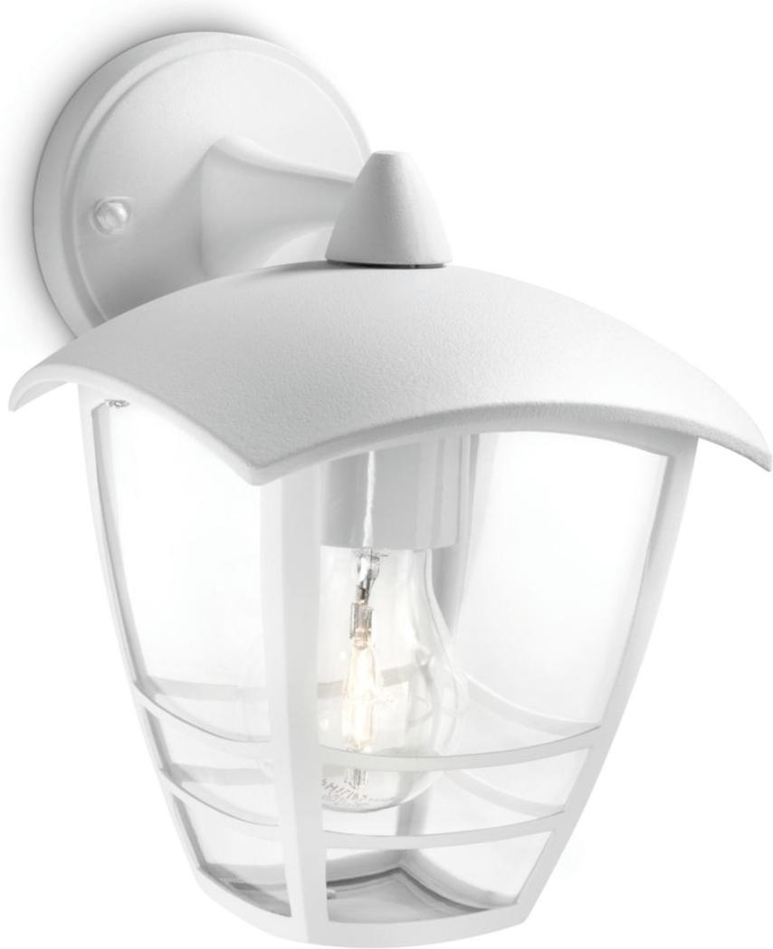 Philips LED Außenleuchte E27 15W Creek Tageslicht 15381/31/16