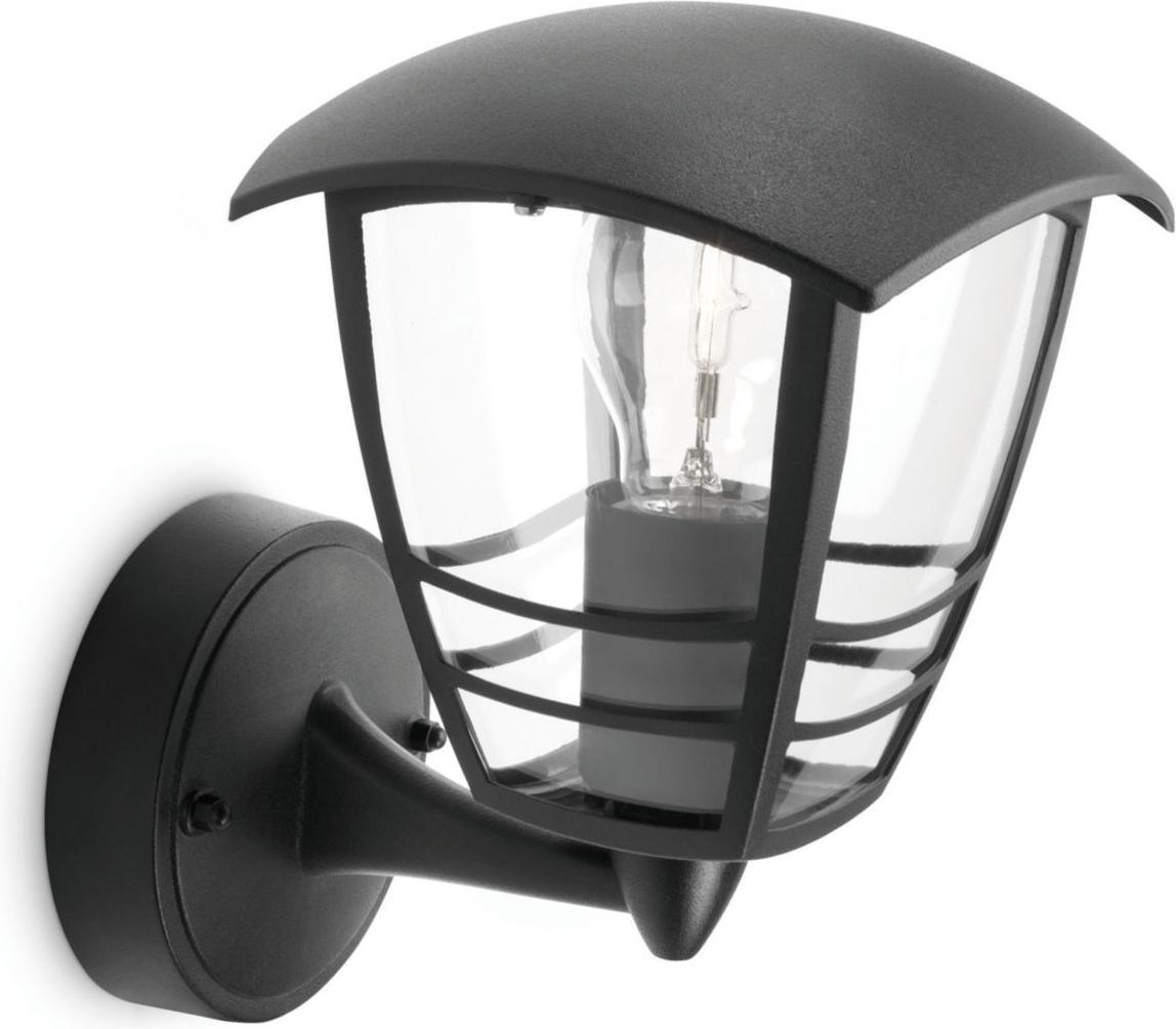 Philips LED Außenleuchte E27 15W Creek Tageslicht 15380/30/16