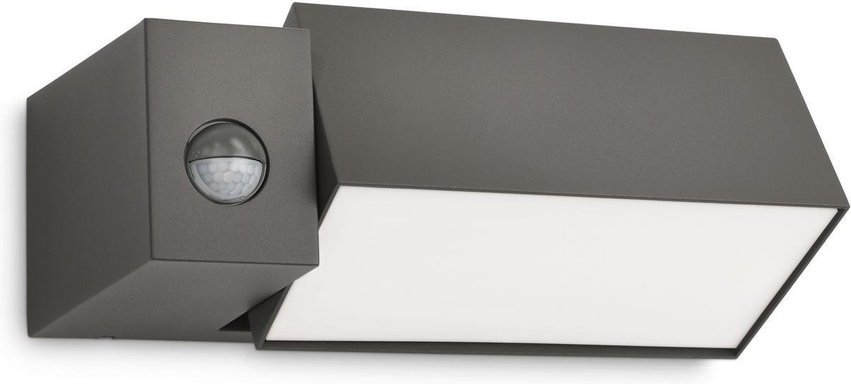 Philips LED Außenleuchte IR E27 5W Border Warmweiß 16943/93/16