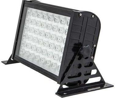 Schwarzer LED Strahler 48W Warmweiß