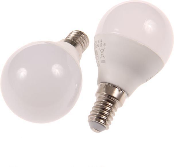 LED Birne E14 MKG45 6W Kaltweiß