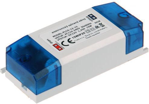 LED Transformator SPS 12V 15W innen