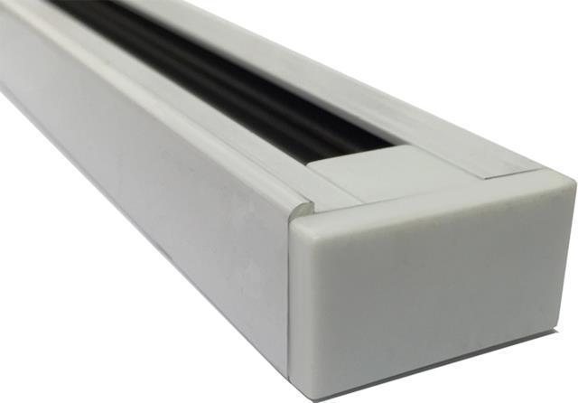 Weisser 1-Phasen Schiene system 1m
