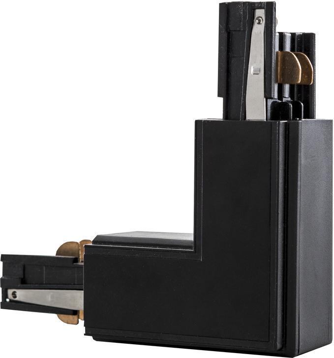 L Verbindungsstück 3F für DreiPhasen-Profil schwarz