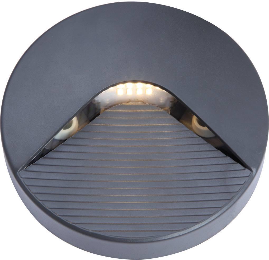 LED Birne 2W SIDE10 grau IP65 Tageslicht