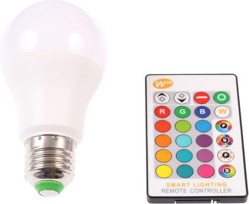 Dimmbarer LED Birne RGBW 5W E27 360°
