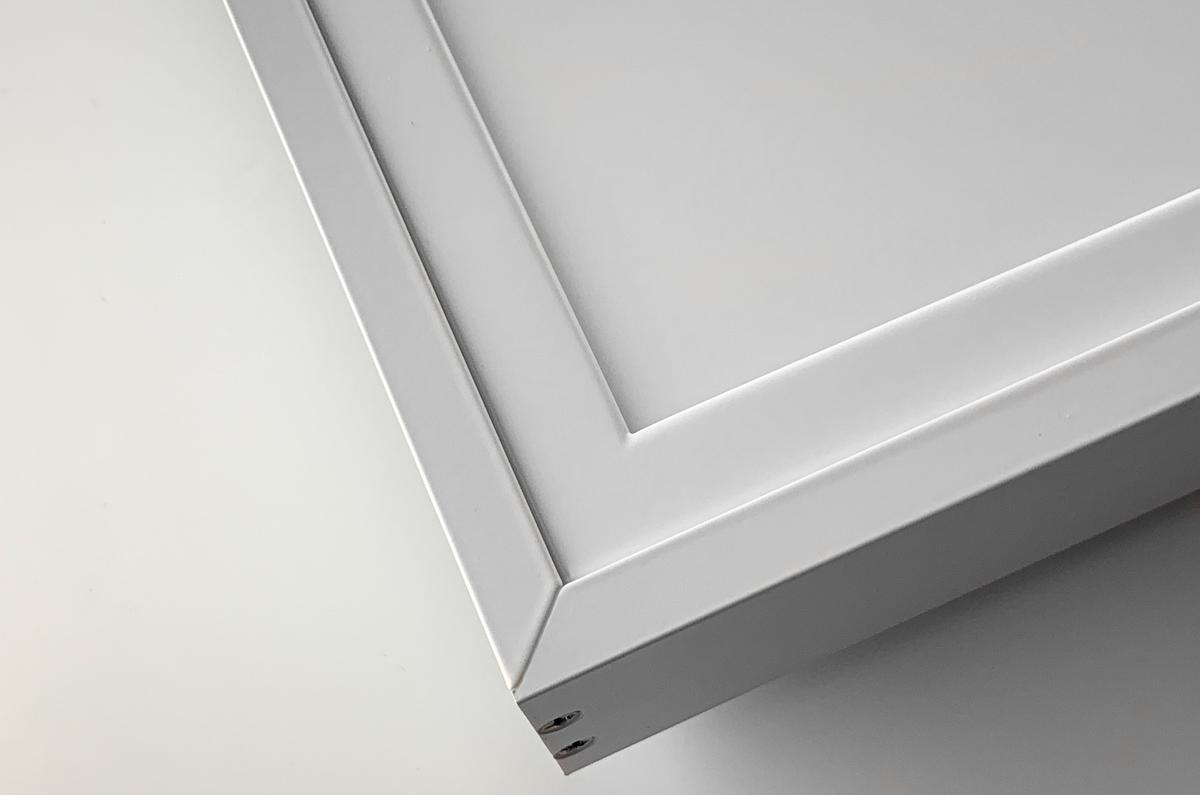 Aluminium Rahmen zu Panel 600x600 LED G4-45 weiss