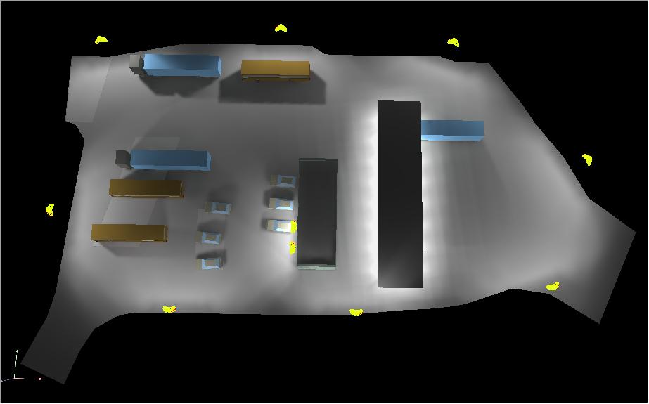 Projekt čerpací stanice 1