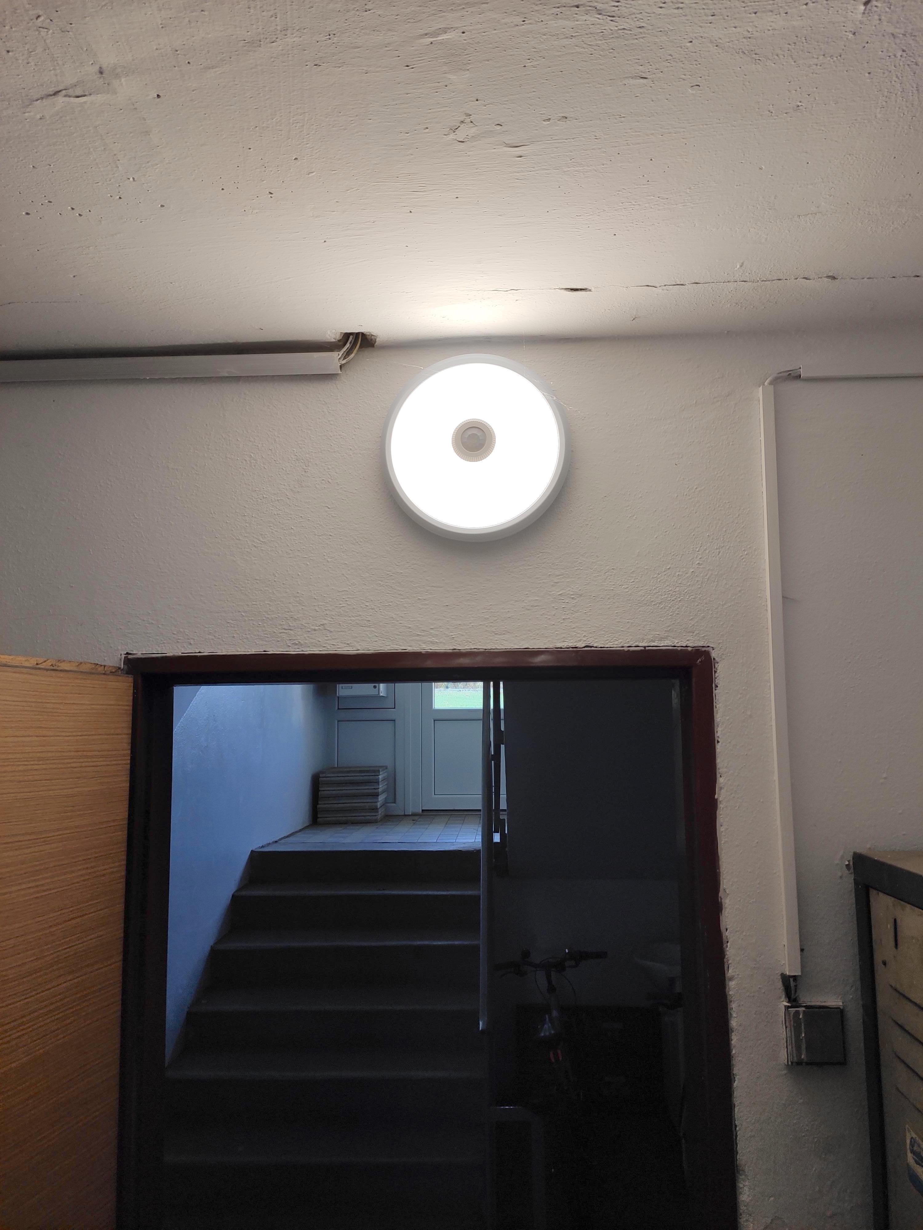 Osvětlení bytového domu Český Krumlov 1