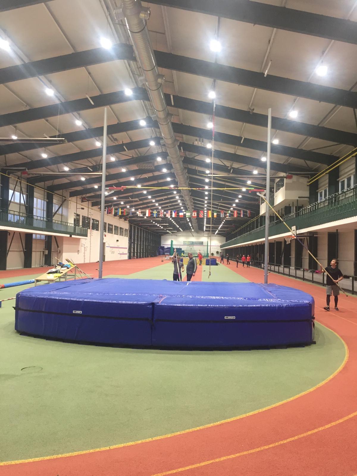 Osvětlení sportovní haly v Jablonci nad Nisou 1