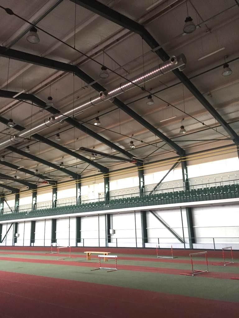 Osvětlení sportovní haly v Jablonci nad Nisou 2