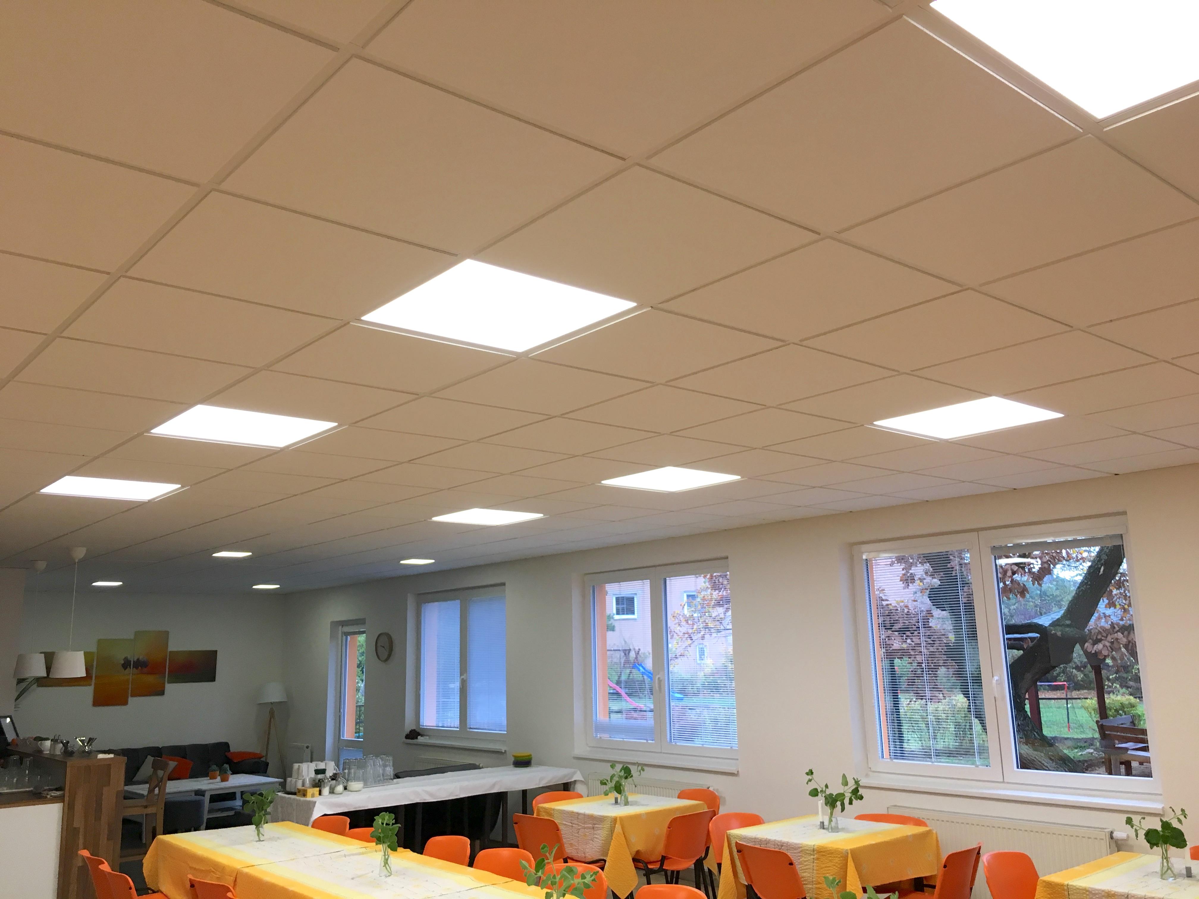 LED osvětlení Podhledové panely Litvínov 1