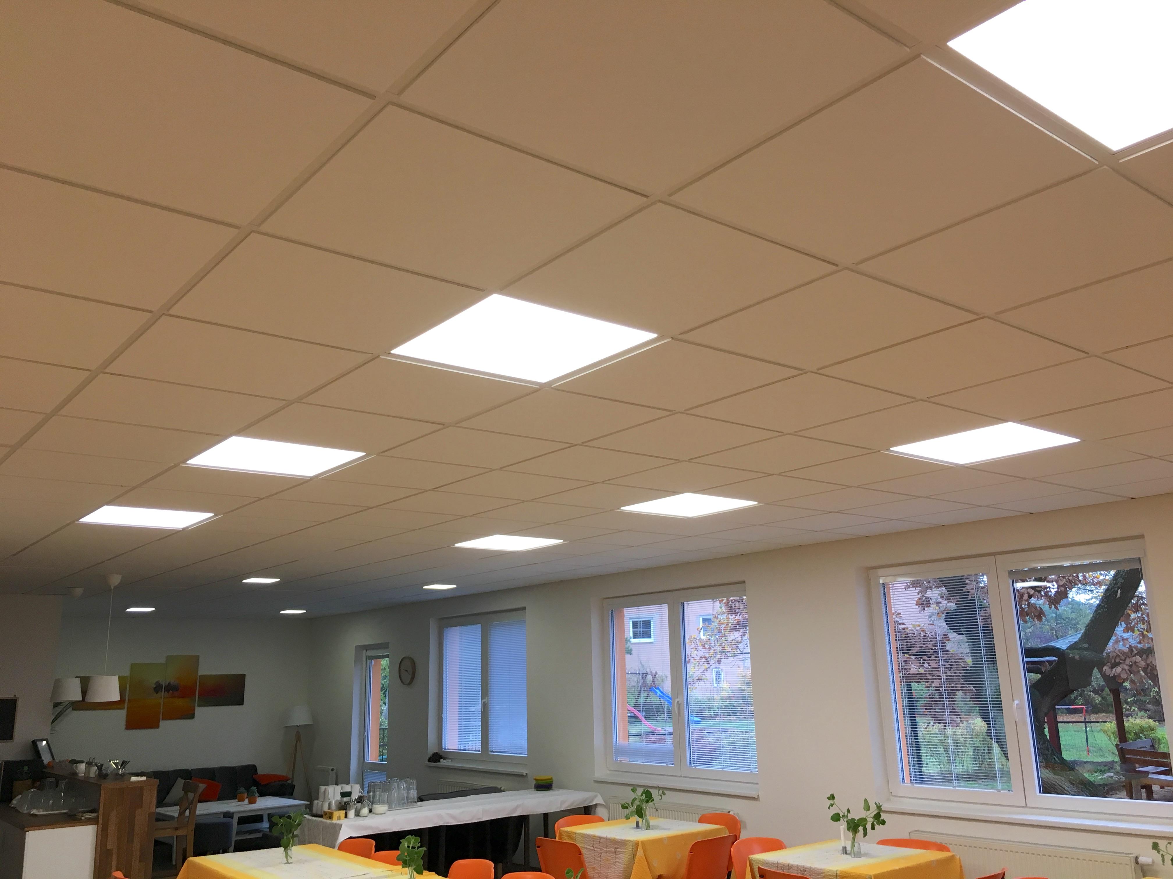 LED osvětlení Podhledové panely Litvínov 2